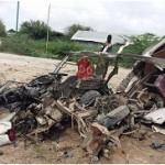 Road Landmine Explosion
