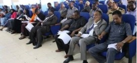 Somalia:11 candidates compete in the speaker of the parliament election today