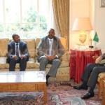 وزير التخطيط ومستشار رئيس الوزراء يلتقيان الأمين العام لجامعة الدول العربية