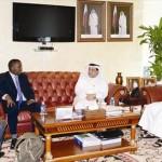 غرفة قطر تبحث علاقات التعاون التجاري مع الصومال