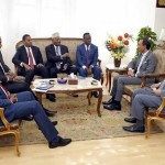 وزير الإعلام يلتقي رئيس اتحاد الإذاعة والتليفزيون المصري