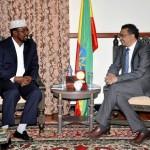 وزير الخارجية الإثيوبي يلتقي أحمد إسلان للتباحث بشان الخلاف بين الحكومة وجوبالاند