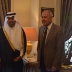البرلمان العربي يجتمع مع الأمين العام لجامعة الدول العربية في القاهرة